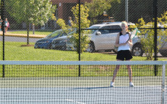 Giles places in districts as tennis finishes season