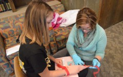 Biomed students help train doctors