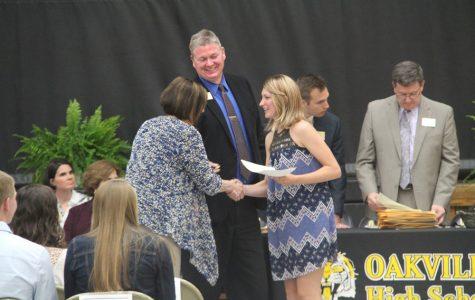 Seniors recognized for academic accomplishments