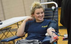 Blood Drive drives students to donate