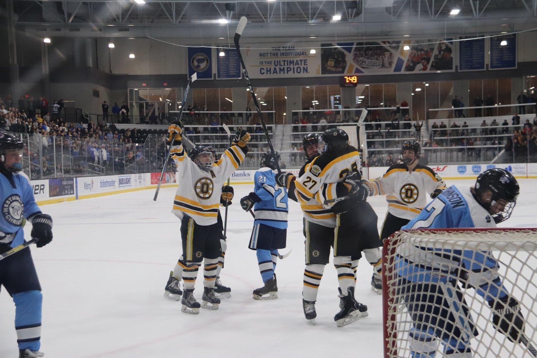 Justin Skaggs (12), Zach Daniels (12) and  Jack Huffman (12)
