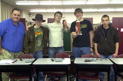 History Bowl team wins national qualifier