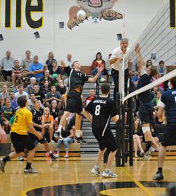 Volleyball starts strong