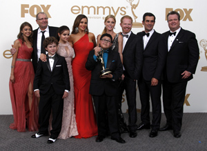 """Modern Family"" wins big at 2011 Emmys"