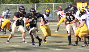Tigers run past knights for third victory of season