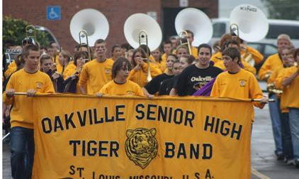 OHS band marches to success