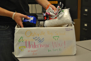 Share the care, bring underwear