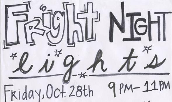 Fright Night Lights dance aims to raise schools spirit