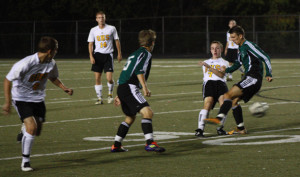 Oakville soccer tastes victory against rival Mehlville after four year losing streak.