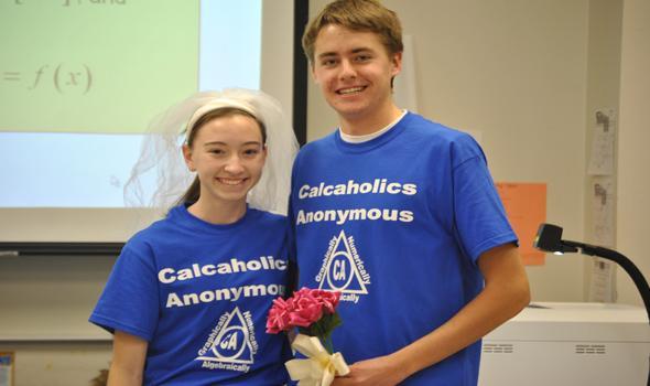 AP Calculus celebrates fundamental theorem of Calculus