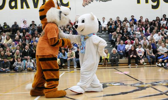 Pep Rally kicks off winter spirit week