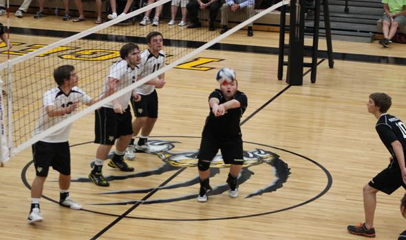 OHS boys volleyball take two of three sets against Vianney