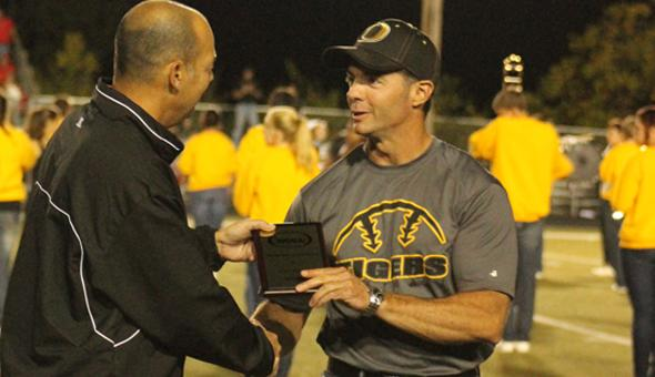 Coach Sturm issued coach of the year award