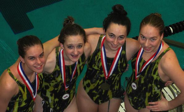 Girls Swim places fourth at Rockwood Summit Invite