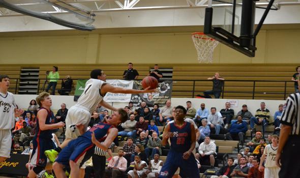 Boys basketball 8-6 at half way point of season
