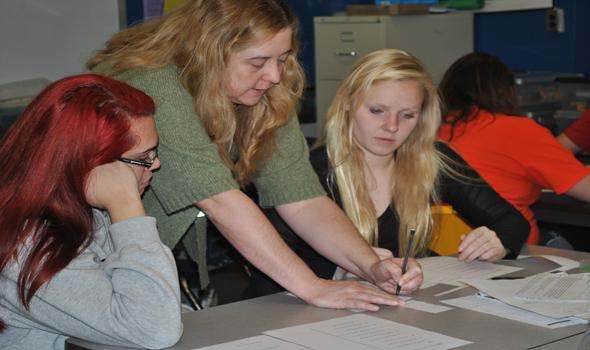 Getting creative in OHS math classes
