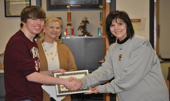OHS senior recognized as a National Merit Finalist