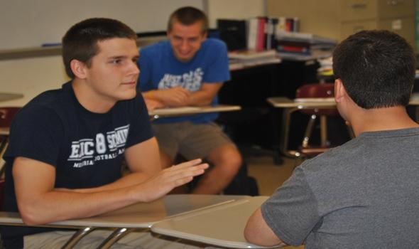 Students compete geography style for final prep