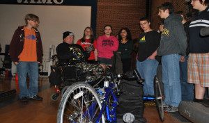 Sophomores visit the VA Medical Center for Service Learning