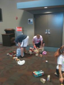 OHS seniors help out at Oak Bridge