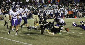 Football runs out of magic in home opener