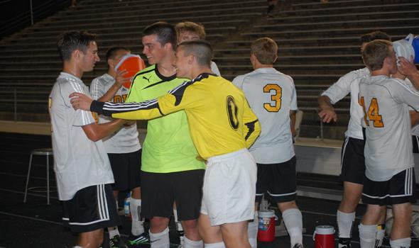 Soccer opens up with thrilling victory