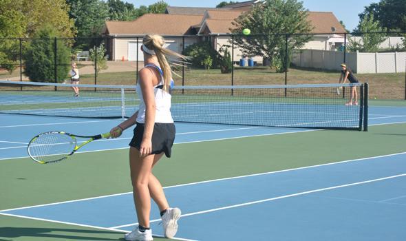 Tennis has good season under first year head coach
