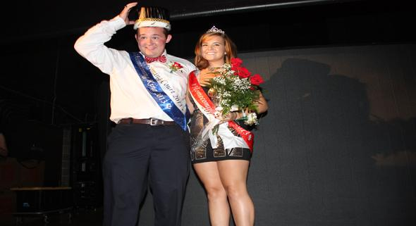 And the King and Queen are...