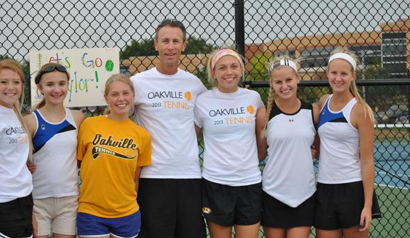 Double trouble: Tennis doubles pair qualifies for sectionals