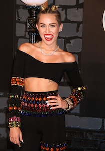 Miley Cyrus twerks her way into the headlines