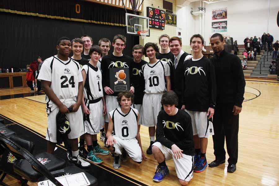 Freshman basketball brings home a championship