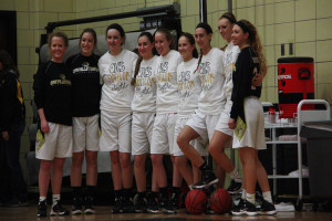 Girls Basketball struggles with fundamentals on senior night