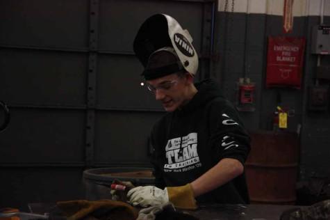 Matt Bagby welds his talents