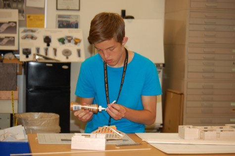OHS Architecture students show off skills