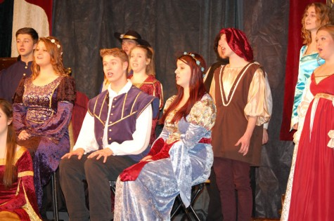 Madrigal Choir Sings Through the Play