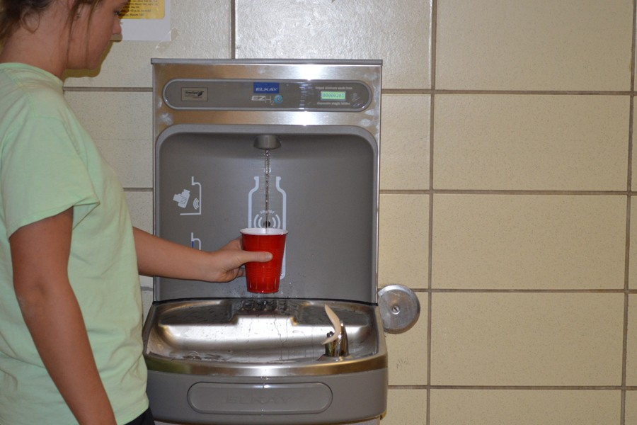OHS installs new drinking fountains