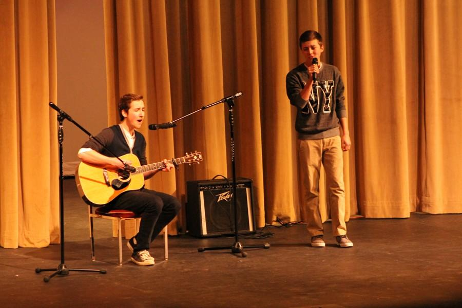 Students perform at last year's talent show.