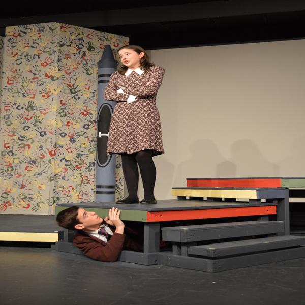 Drama goes back to kindergarten for fall play