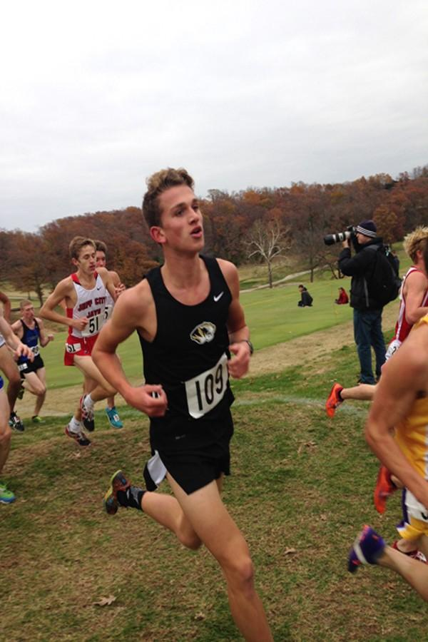 Cross country runner heads to state