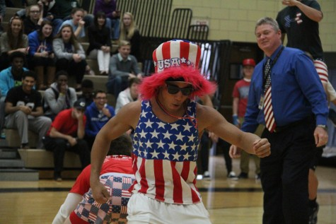 Winter pep assembly celebrates school spirit