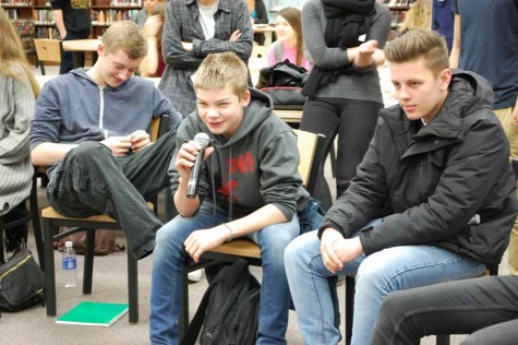 German exchange students bring a message to OHS