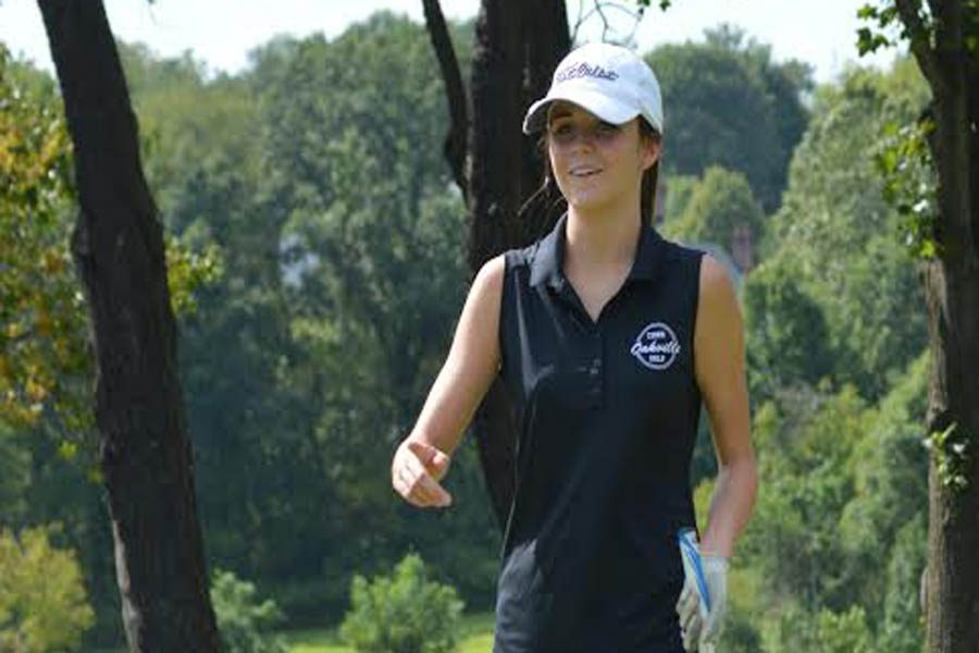 Gabe+Foppe+%2811%29+walks+on+to+the+green+during+match+against+Notre+Dame+on+Aug.+23.