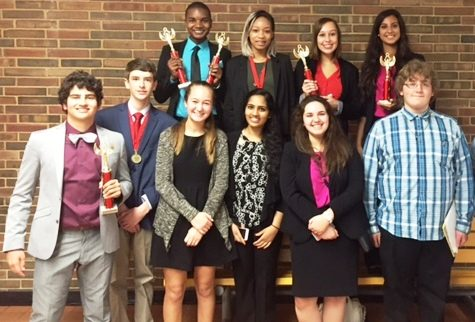 Oakville's speech and debate team competed against 22 other schools at Parkway West's Invitational on the weekend of Oct. 14 to Oct.  16.