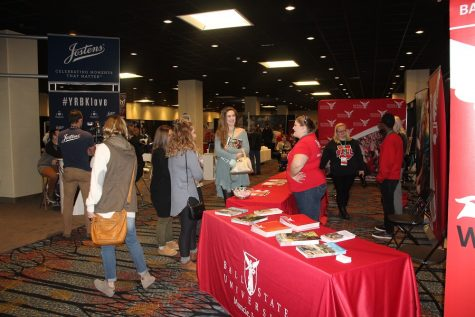 Students from across the country gather in Indianapolis to not only attend the National Broadcast Convention, but scope out some colleges as well.