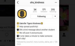 Anonymous OHS instagram account spreads kindness