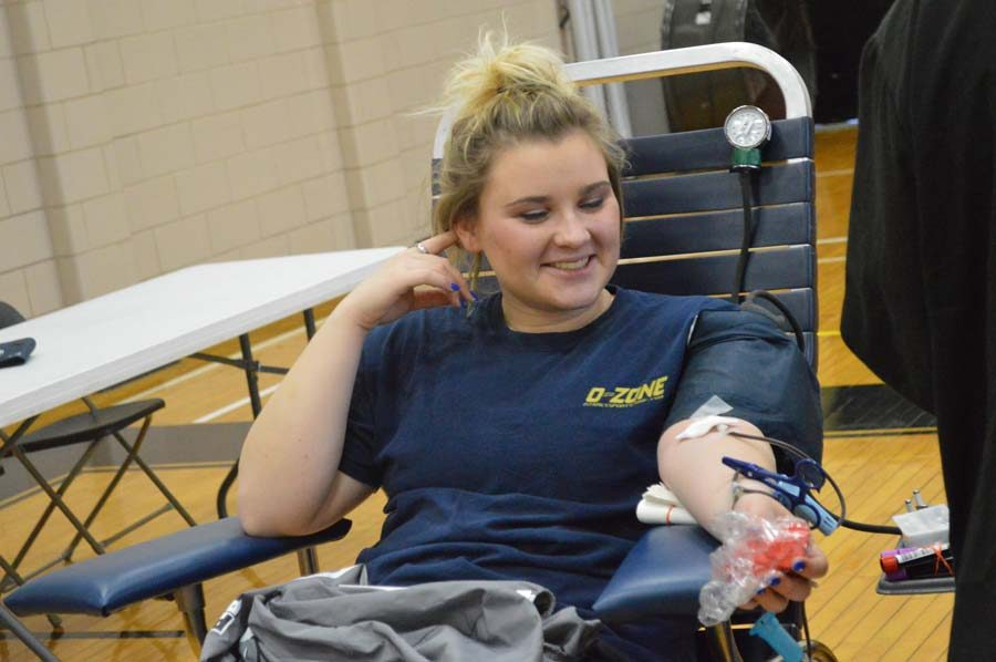 Blood+Drive+drives+students+to+donate