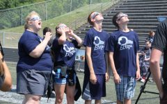 Students witness historic eclipse