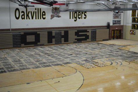 OHS renovates gym A floors