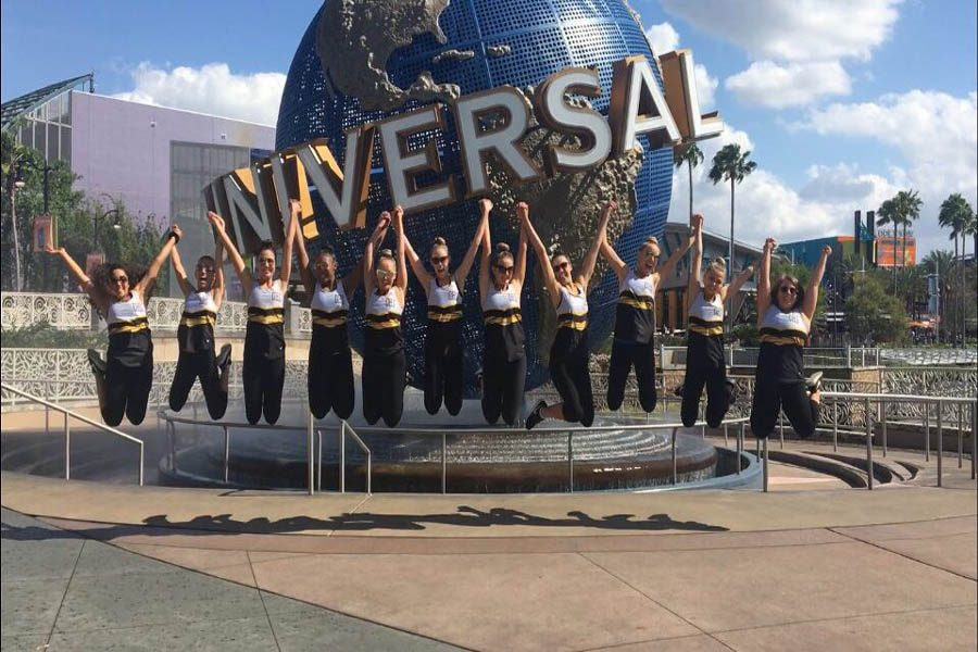 Golden Girls place at nationals