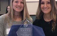 OHS seniors receive award for outstanding leadership